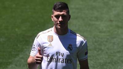 Luka Jovic Real Madrid