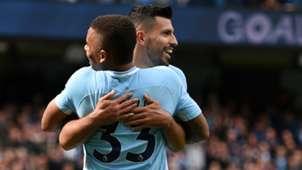 Gabriel Jesus Sergio Aguero Manchester City 2017