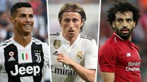 Ronaldo Modric Salah