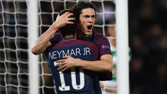 Champions League top scorers: Cavani and Neymar trail Ronaldo