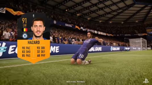 Embed Only FIFA 19 Hazard MOTM