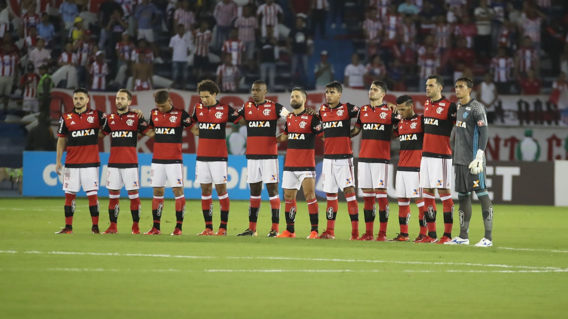 Junior Barranquilla Flamengo Copa Sudamericana 30112017