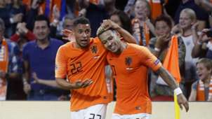 Memphis Depay, Netherlands - Germany, Nations League 10132018