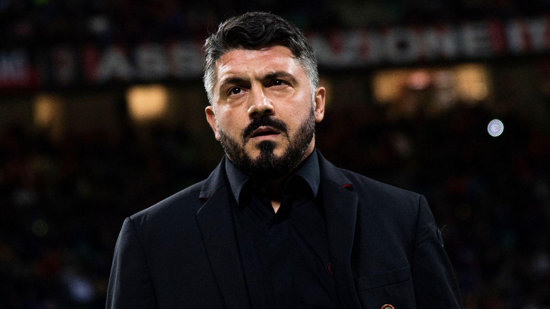 Gennaro Gattuso Milan Sampdoria Serie A