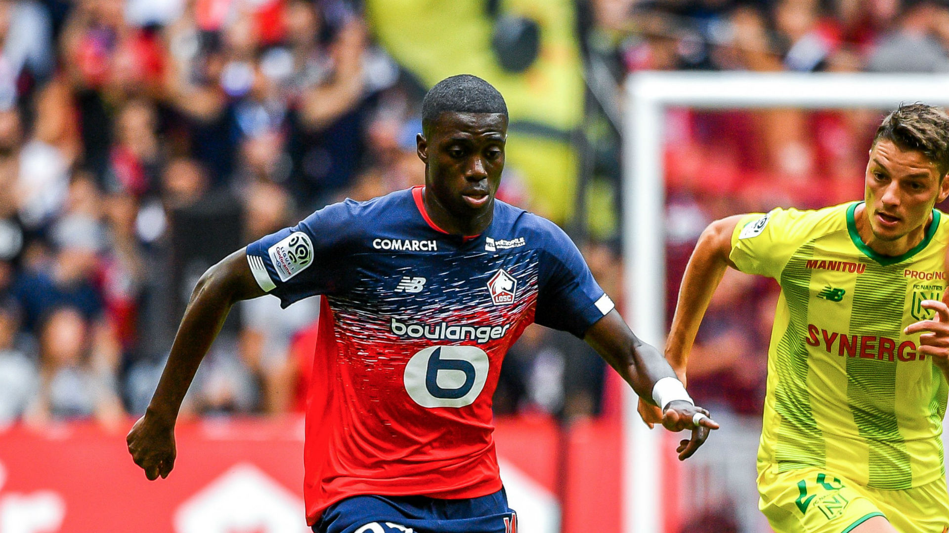 Ligue1: Osimhen's brace earns Lille all three points on opening day