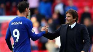FC Chelsea Alvaro Morata Antonio Conte 23092017