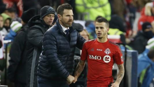 Greg Vanney Sebastian Giovinco MLS Toronto FC 12102016