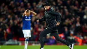 Jurgen Klopp Liverpool Everton Premier League
