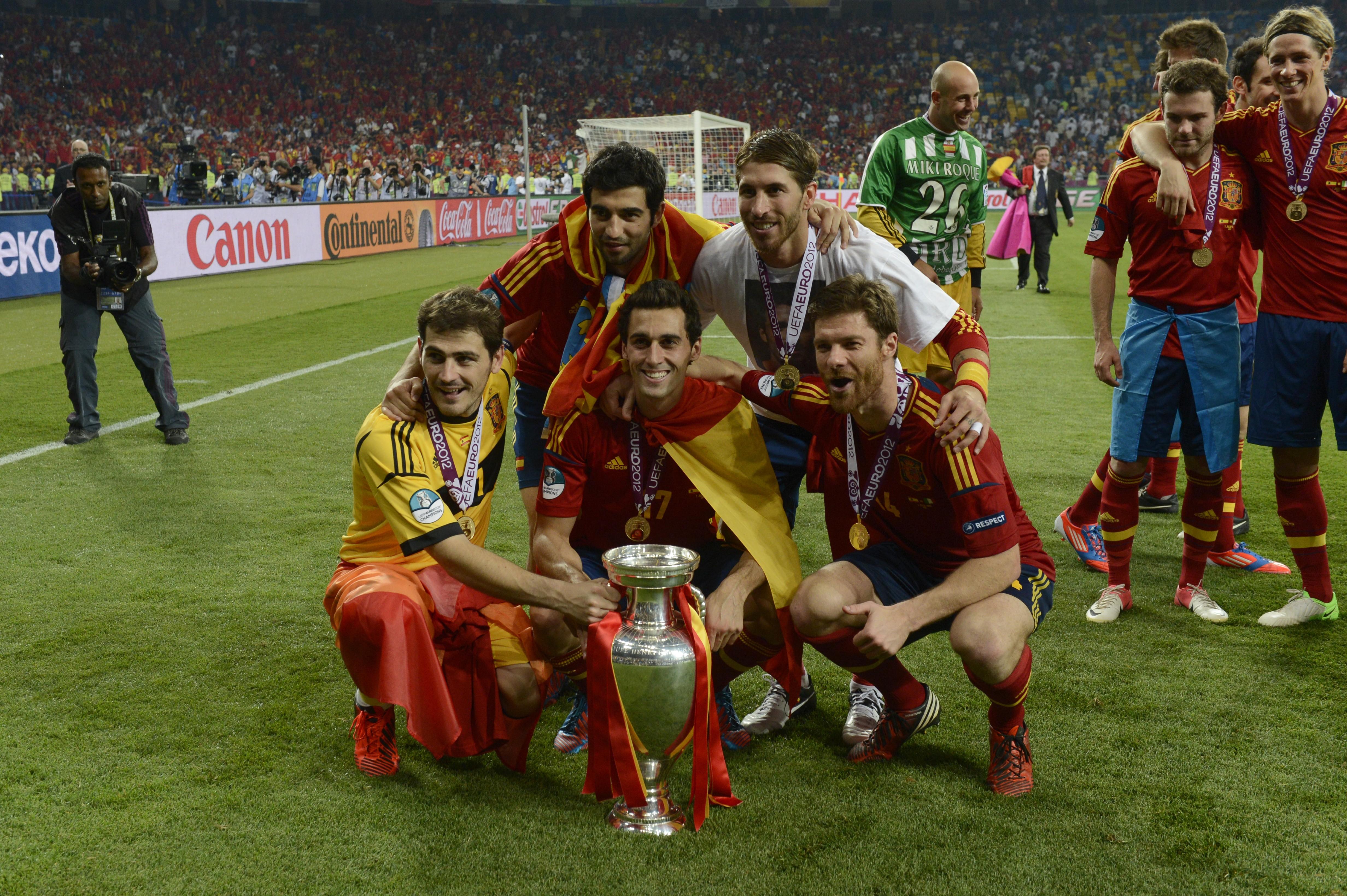 España Eurocopa 2012