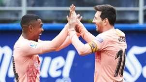 Malcom Lionel Messi Barcelona 2018-19