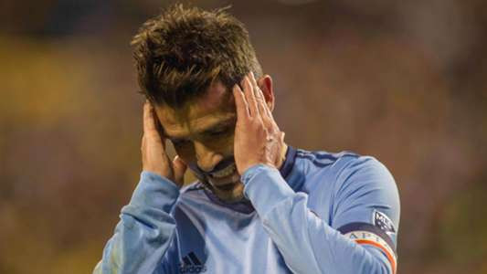 David Villa MLS NYCFC 10312017