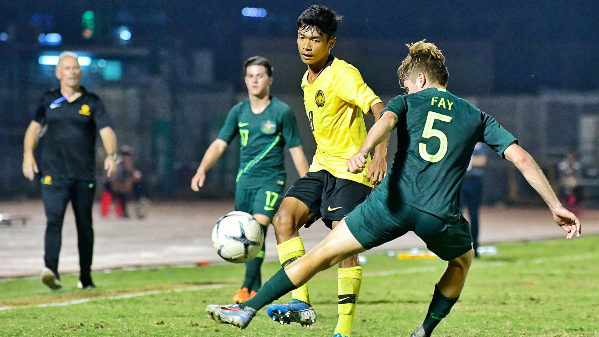 Malaysia U18 v Australia U18, AFF U18 Championship, 19 Aug 2019