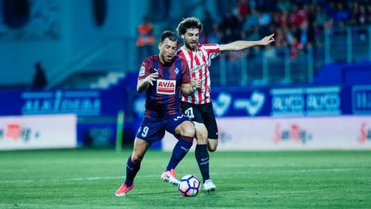 Sergi Enrich Yeray Eibar Athletic Bilbao La Liga