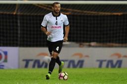 Pulau Pinang's Reinaldo Lobo playing against Selangor 21/1/2017