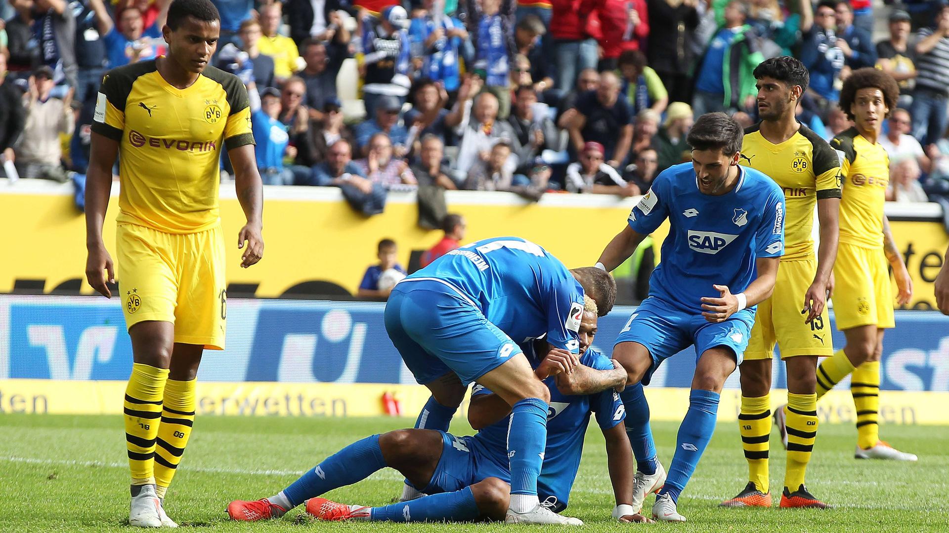 ONLY GERMAN Hoffenheim - Borussia Dortmund 22092018