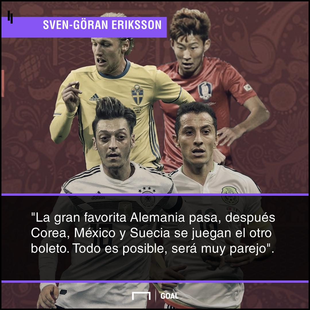 Opinión Eriksson Grupo F Mundial 2018 040418