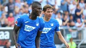 Ihlas Bebou scores in Hoffenheim's win over Werder Bremen