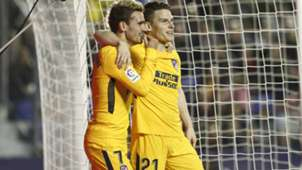 Griezmann Gameiro Levante Atletico Madrid LaLiga