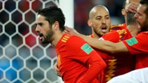 Isco Alarcon Iran Portugal Spain Morocco España Marruecos 25062018