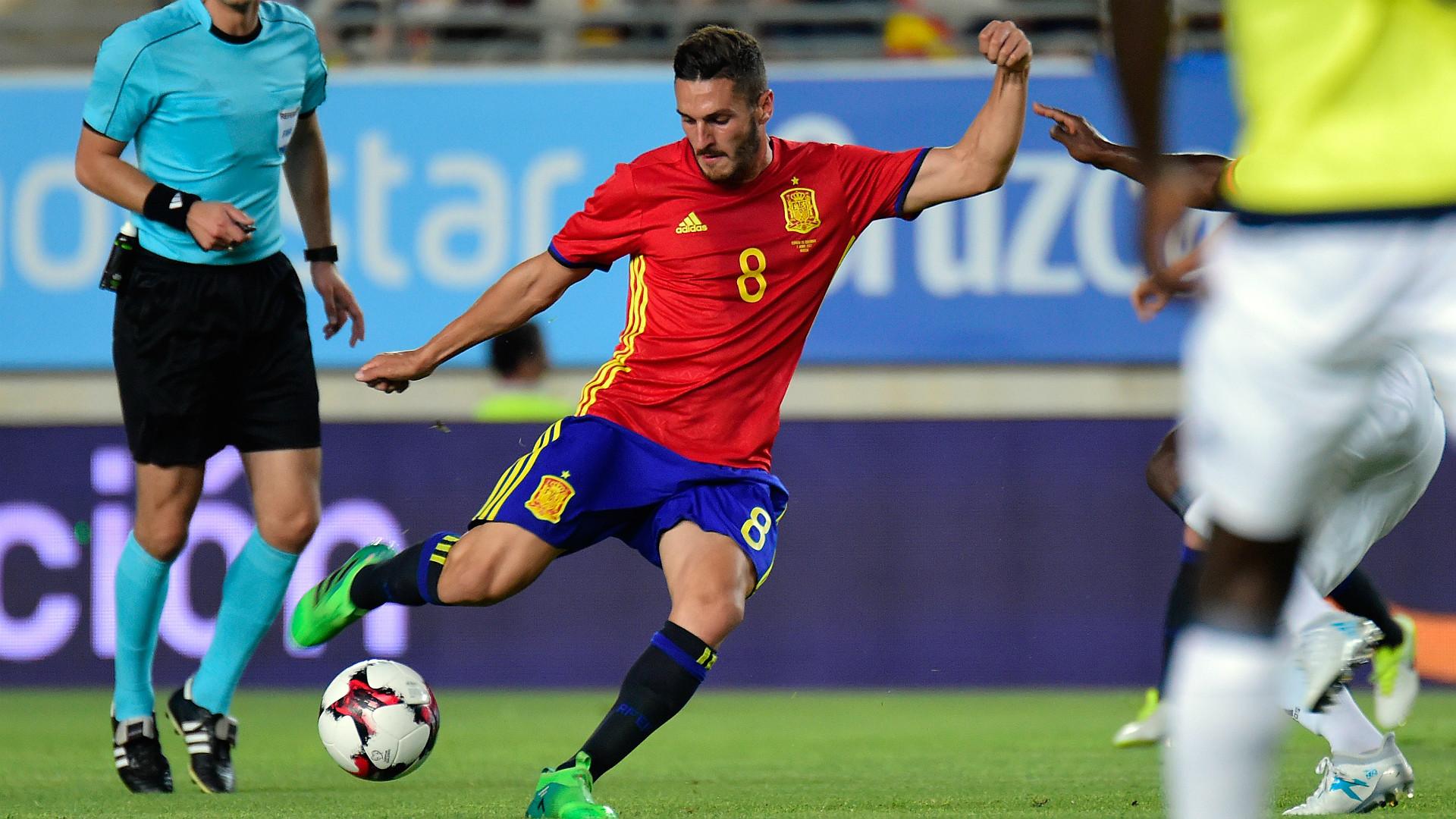 Koke Spain Colombia Friendly 07062017
