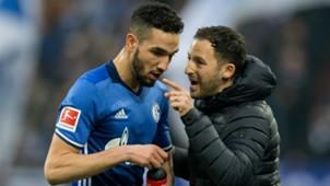 Nabil Bentaleb Domenico Tedesco Schalke 04