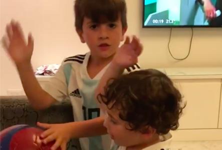Hijos Messi Argentina