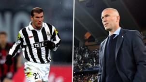 Zinedine Zidane, Juve, Madrid