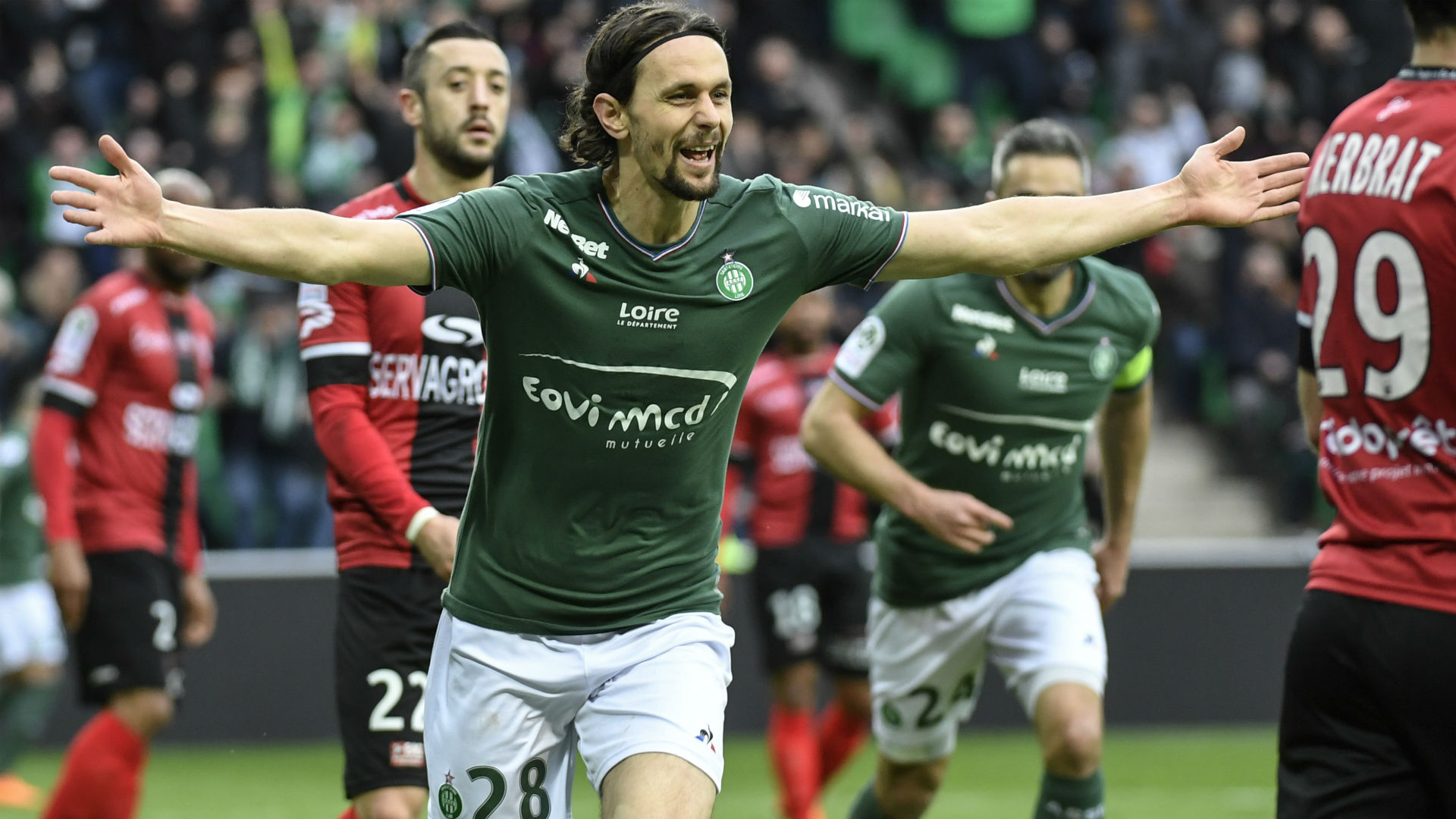 Maillot Domicile saint etienne Neven SUBOTIC