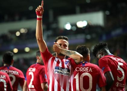 Saul Ñiguez Real Madrid Atletico Madrid 15/08/2018