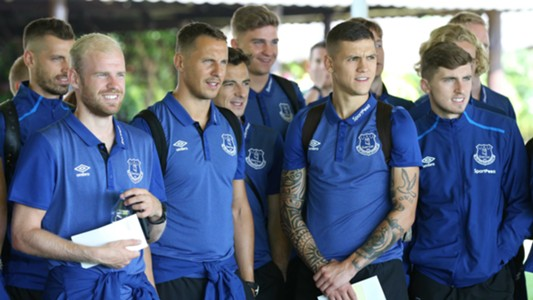 Everton FC players