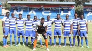 AFC Leopards squad v KCCA.