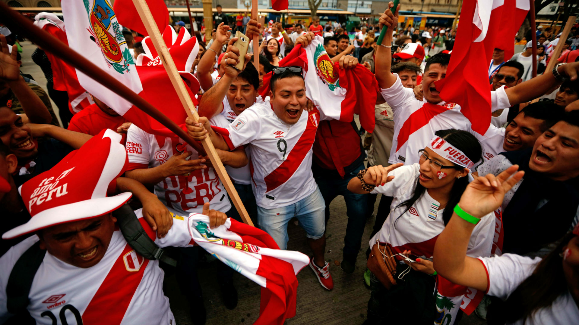 Argentina Peru WC Qualification Fans