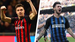 Inter Milan derby Piatek
