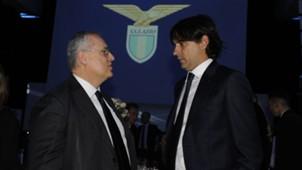 Claudio Lotito Simone Inzaghi - Lazio