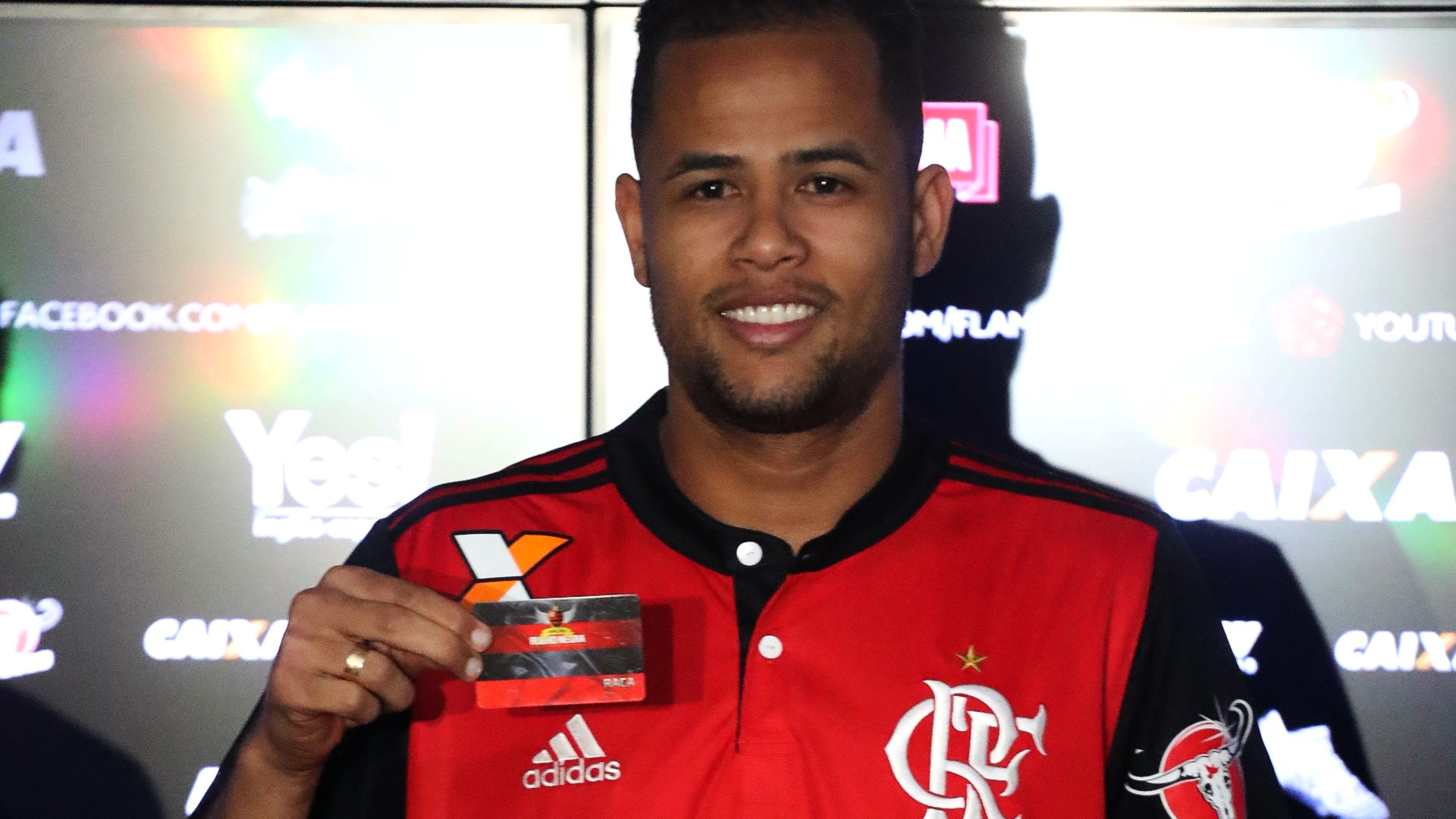 Geuvanio Flamengo apresentacao 23062017