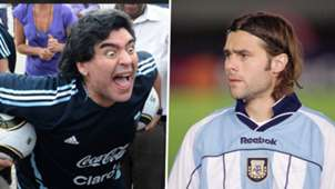 Diego Maradona Mauricio Pochettino Argentina