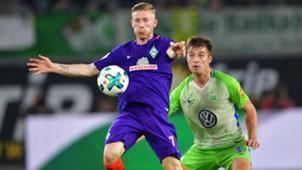 Kainz, Knochen, Wolfsburg - Werder Bremen, Bundesliga, 09192017