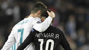 Cristiano Ronaldo Neymar Real Madrid PSG Paris Saint-Germain