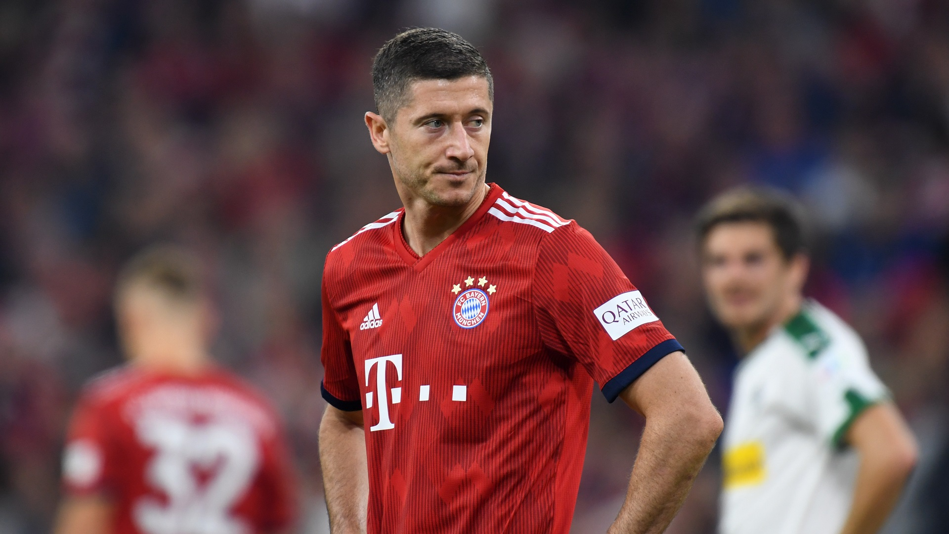 Wolfsburg 1-3 Bayern Munich: Robert Lewandowski helps champions end winless run