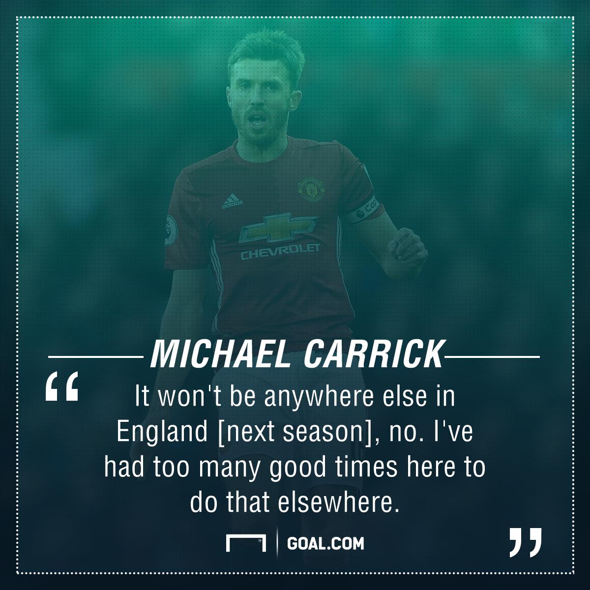 Michael Carrick Manchester United future