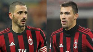 Bonucci Romagnoli Milan