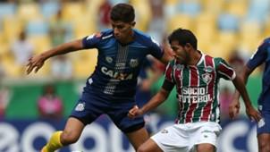 Vitor Bueno Junior Sornoza Fluminense Santos Brasileirao Serie A 14052017