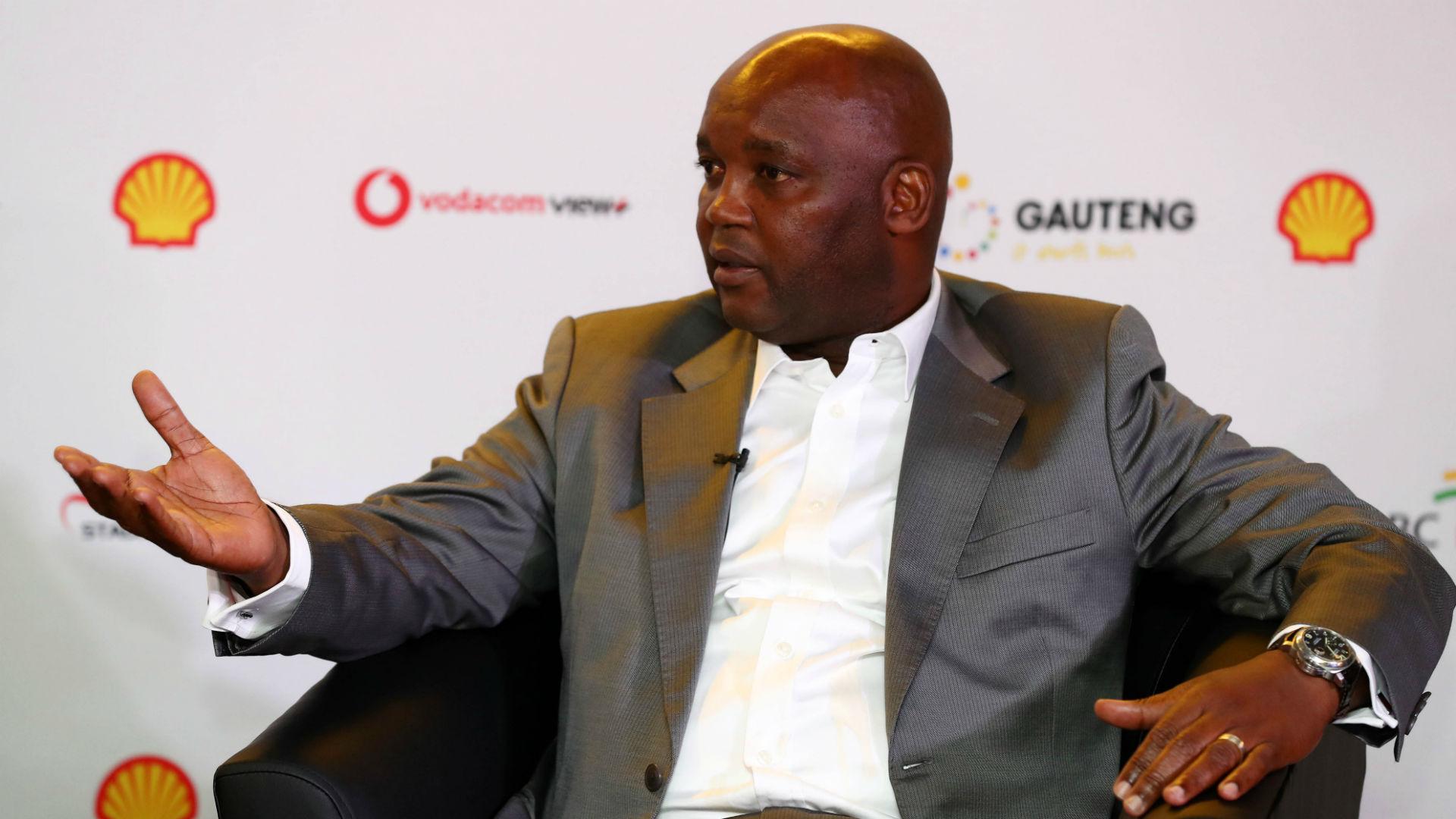 Mamelodi Sundowns coach Pitso Mosimane, May 2018
