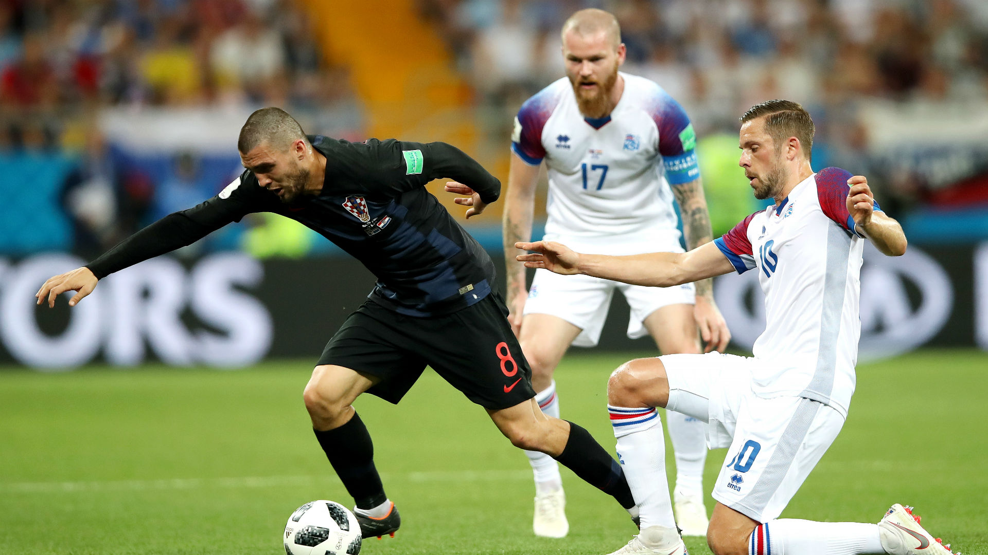 croatia iceland - mateo kovacic gylfi sigurdsson - world cup - 26062018