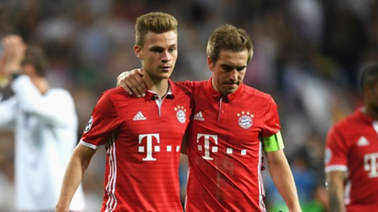 Joshua Kimmich Philipp Lahm Bayern Munich