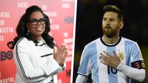 Oprah Winfrey Lionel Messi Split