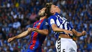 Javier Mascherano Marcos Llorente Barcelona Alaves Copa del Rey 27052017