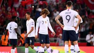 Olivier Giroud Antoine Griezmann France Turkey Euro 2020 qualifying 2019
