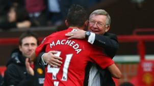 Federico Macheda Sir Alex Ferguson Manchester United