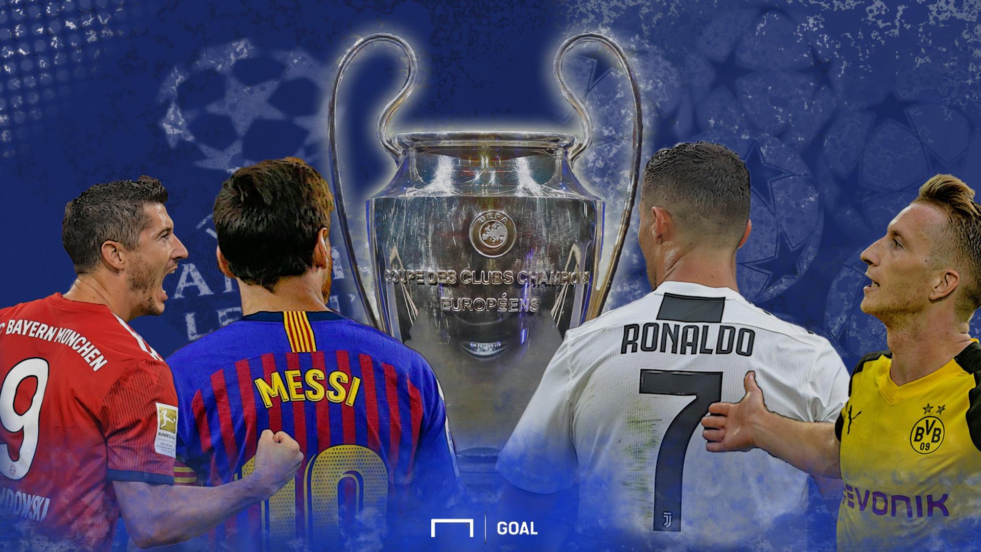 GFX Champions League Auslosung 2018/19